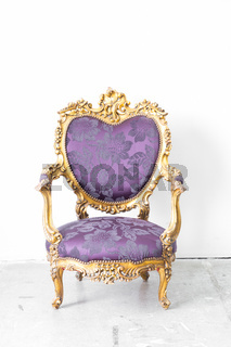 Purple Royal Chair