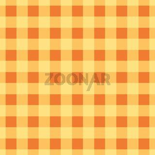 Simple plaid wallpaper. The yellow brown tablecloth