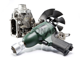 Car repair - details of the pump of high pressure