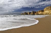 Beautiful Beach Praia da Marinha, Portugal