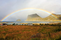 Rainbow near Vik
