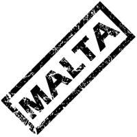 MALTA rubber stamp