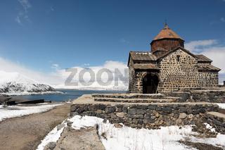 Ancient monastery Sevanavank in Armenia