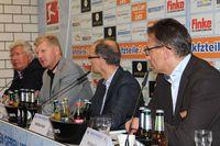 Pressekonferenz in Paderborn am 14.10.2015 des SC Paderborn mit Wilfried Finke