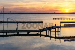 Landschaft am Dümmer See-94