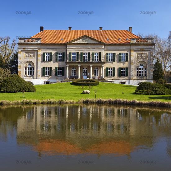 castle Harkotten, Schloss von Korff, Sassenberg, Muensterland, North Rhine-Westphalia, Germany