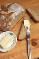 Bread and Butter, German Abendbrot at the Cottage