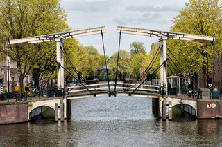 Drawbridge in Amsterdam