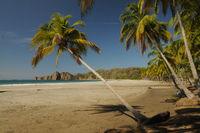 Beach on Nicoya peninsula Costa Rica