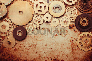 The Steampunk background
