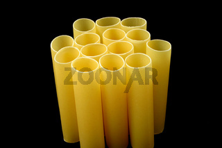 Cannelloni tubes - top view