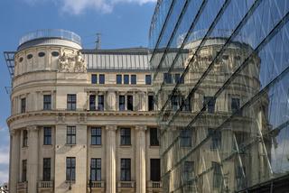 Alte und neue Architektur in Budapest, Ungarn