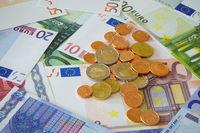 Die Europäische Wahrung, Geldscheine und Münzen