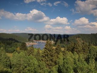 Okertalsperre bei Schulenberg im Harz