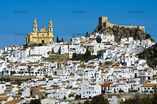 The White Town, Pueblo Blanco, Olvera, Andalusia, Spain