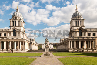 Old Royal Naval College, Greenwich, London, UK