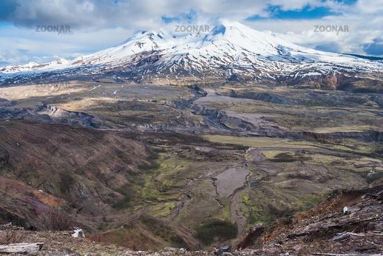 Mount St. Helens in Washington USA