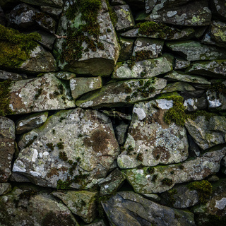Old Dry Stone Wall