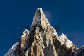 Aiguilles du Alpes from the Mer de Glace, Chamonix,  Savoie, Rhône-Alpes, France