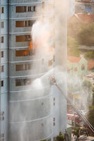 fire fighting in high rise