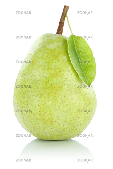 pear fruit fruit green exemption exempted isolated
