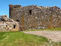 Part of Hammershus castle ruins on Bornholm 4