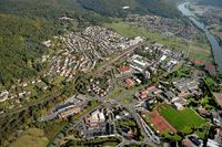 Aerial view of Lohr am Main