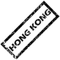 HONG KONG rubber stamp