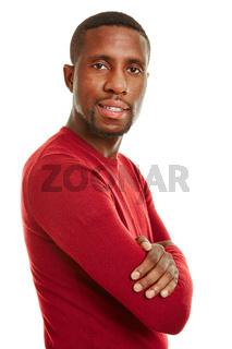 Bewerbungsfoto eines afrikanischen Mannes