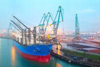 Batumi industrial port, Georgia