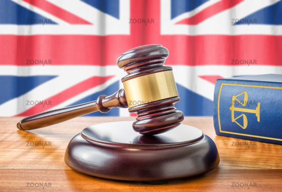 A gavel and a law book - United Kingdom