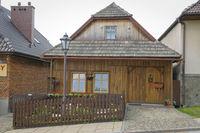 Old wooden house in Lanckorona Poland