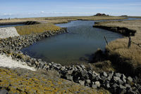 Watercourse on Hallig Langeness