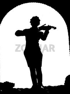 Stencil Johann Strauss Denkmal