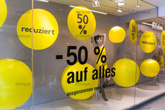 Discounts as a percentage