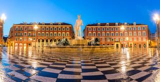 The Soleil Fountain Nice France