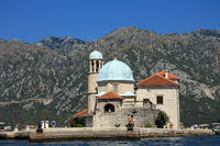Montenegro, Isle of St. Marien on the rock