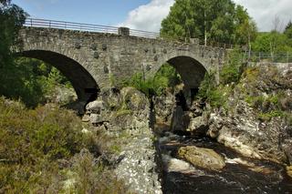 Silverbridge über Black Water in Schottland 1