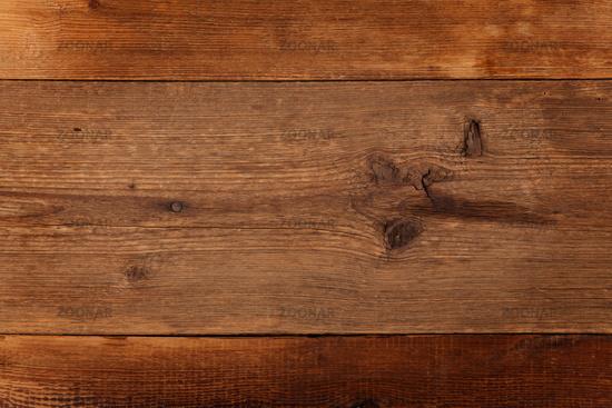 Rustikales Holz mit Nagel und Aststellen