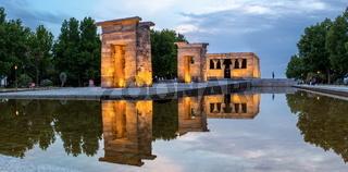 Temple de debod Madrid