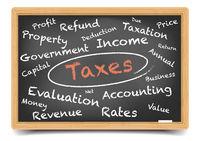 Wordcloud Taxes