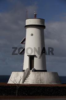 Lighthouse at Sao Mateus, Pico island, Azores