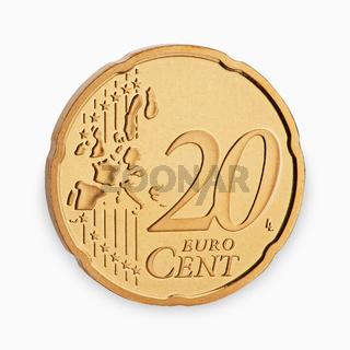 twenty euro coin cent