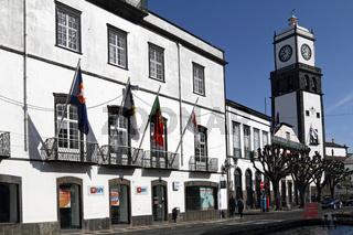 Historic city of Ponta Delgada, Azores