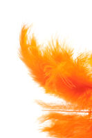 Christmas decoration - orange  quill