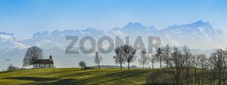 Heilig-Kreuz-Kapelle-Amtzell | Panorama
