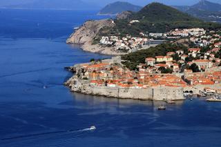 Dubrovnik, Blick auf die Altstadt von oben