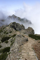 pico arieiro on madeira island