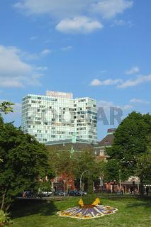 Unilever-Hochhaus und Musikhalle Hamburg