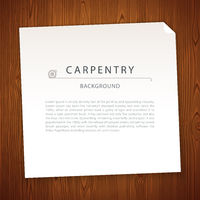 Carpentry Background on Wooden Texture